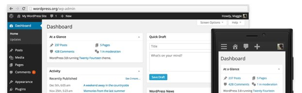 WordPress 3.8 is Here and it's a Big Update!